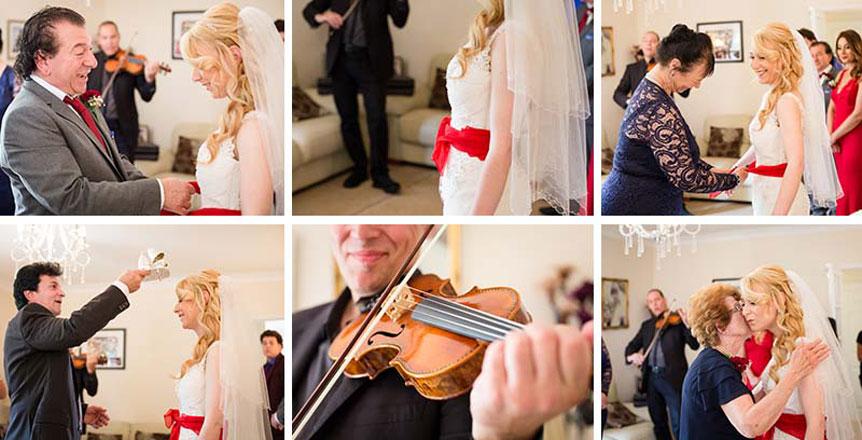 Brides Stolisma Ceromony